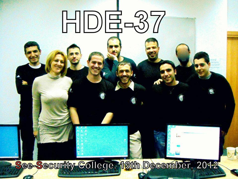 Congradulation HDE 37!